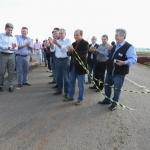 Inaugurado oficialmente o acesso asfáltico à Jacuizinho