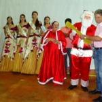 Natal para todos com Ballet, entrega de presentes, sorteio de prêmios e show de fogos