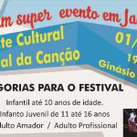 Publicado o regulamento do 3º Festival da Canção de Jacuizinho