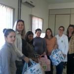 Grupo de gestantes recebe orientação sobre cuidados com o recém-nascido e com o pós-parto