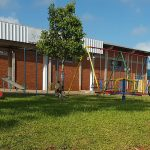 LAZER NA PRAÇA: Playground é instalado na Praça Central